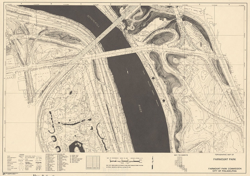 Fairmount Park, 1981, Map F-15