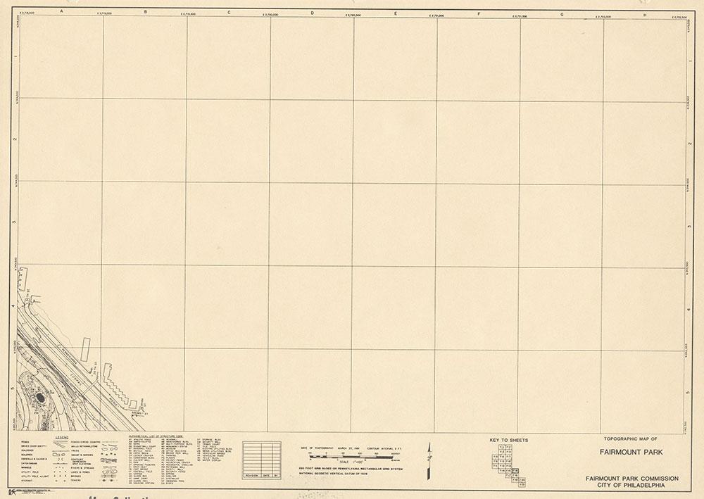Fairmount Park, 1981, Map F-16
