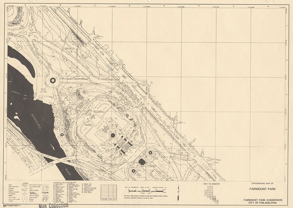 Fairmount Park, 1981, Map F-18