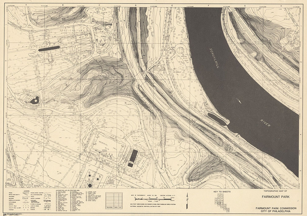 Fairmount Park, 1981, Map F-21