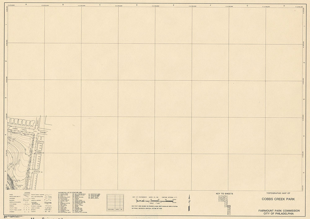 Cobbs Creek Park, 1981, Map C-13