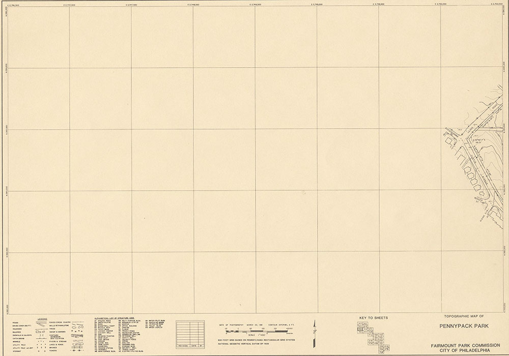 Pennypack Park, 1981, Map P-5