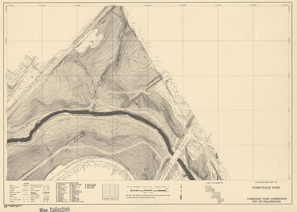 Pennypack Park, 1981, Map P-7