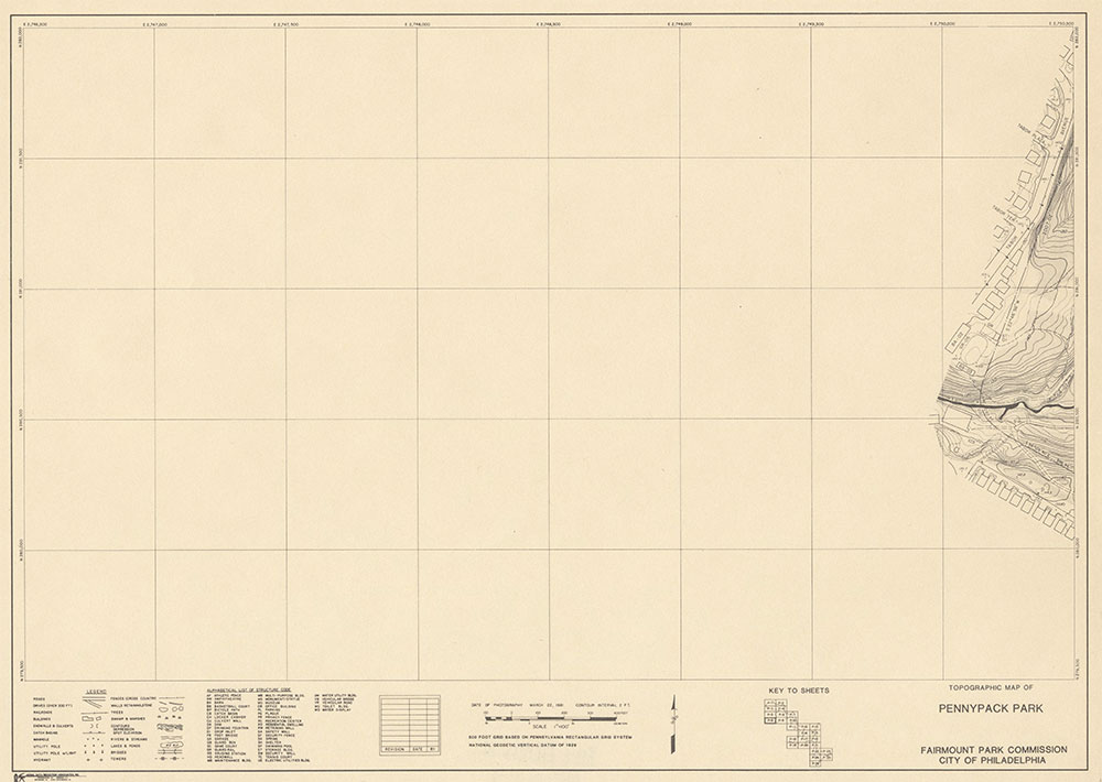 Pennypack Park, 1981, Map P-8