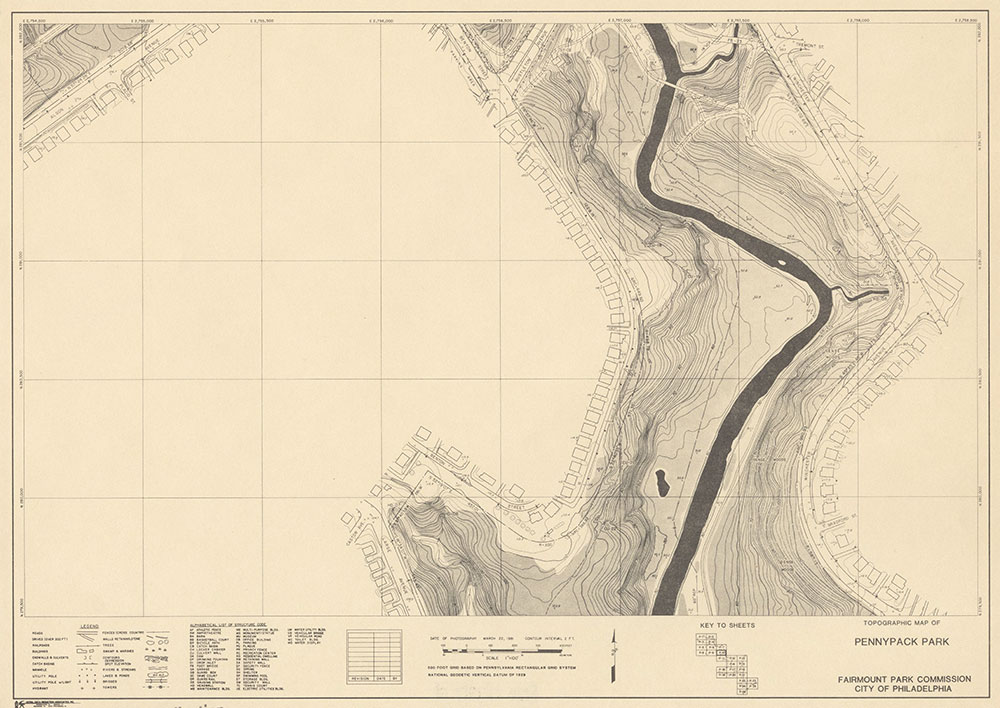 Pennypack Park, 1981, Map P-10