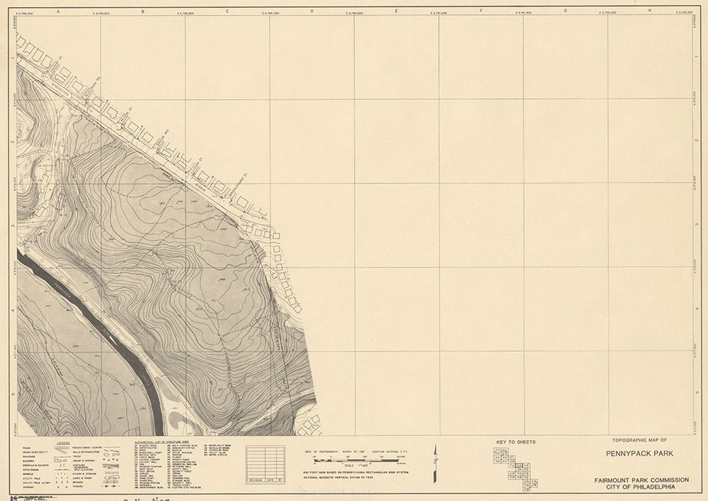 Pennypack Park, 1981, Map P-12