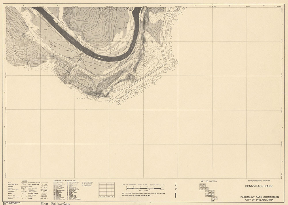 Pennypack Park, 1981, Map P-20