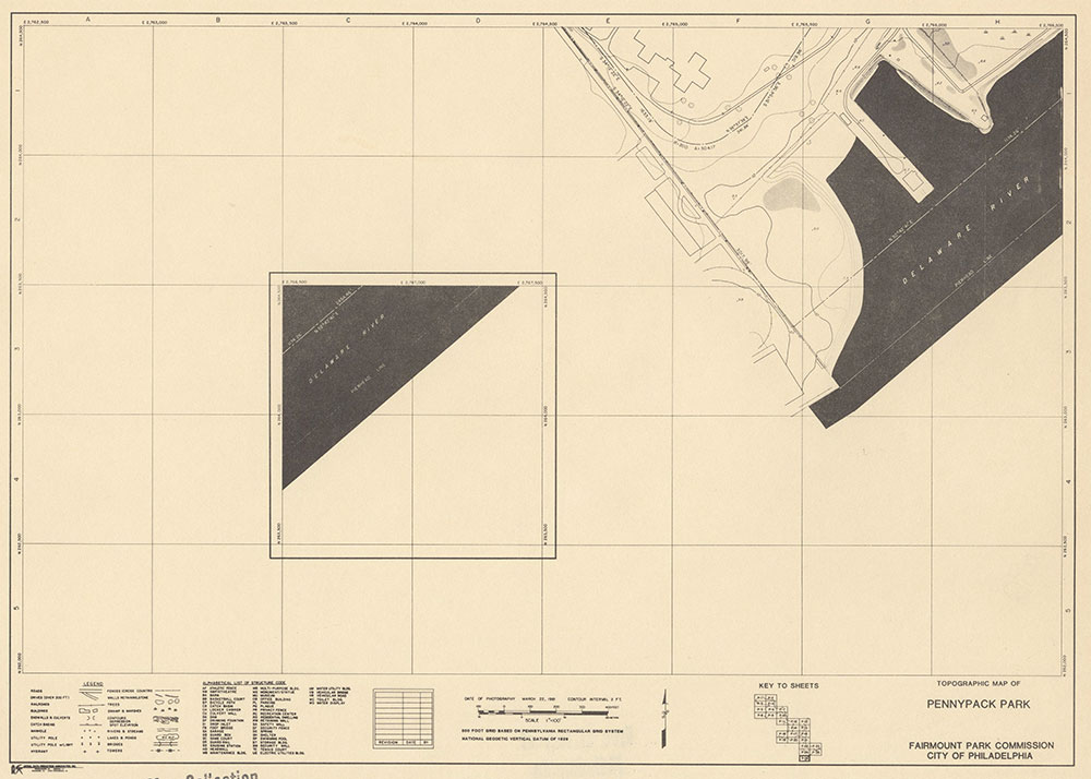 Pennypack Park, 1981, Map P-26