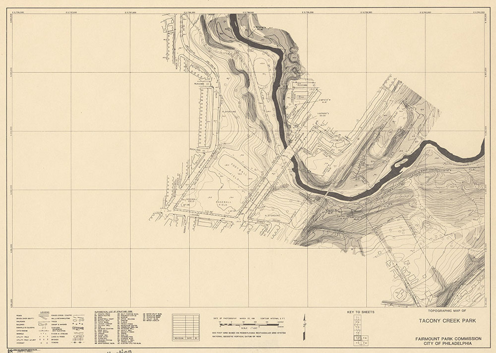 Tacony Creek Park, 1981, Map T-5