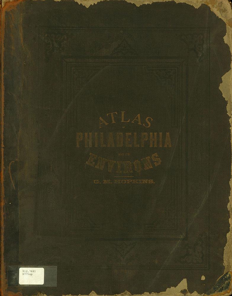 Atlas of Philadelphia and Environs, Cover