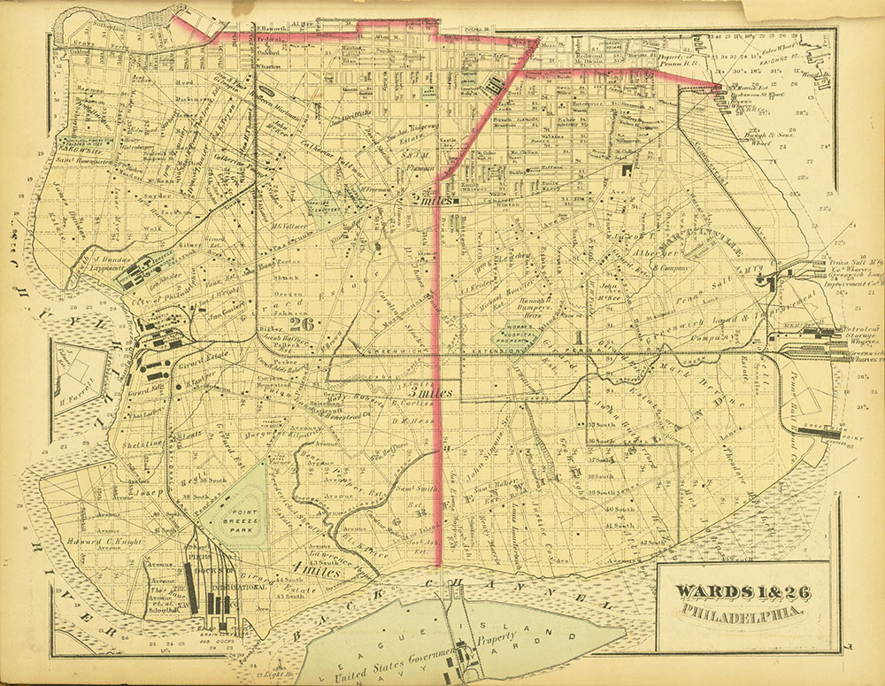 Atlas of Philadelphia and Environs, Page 7