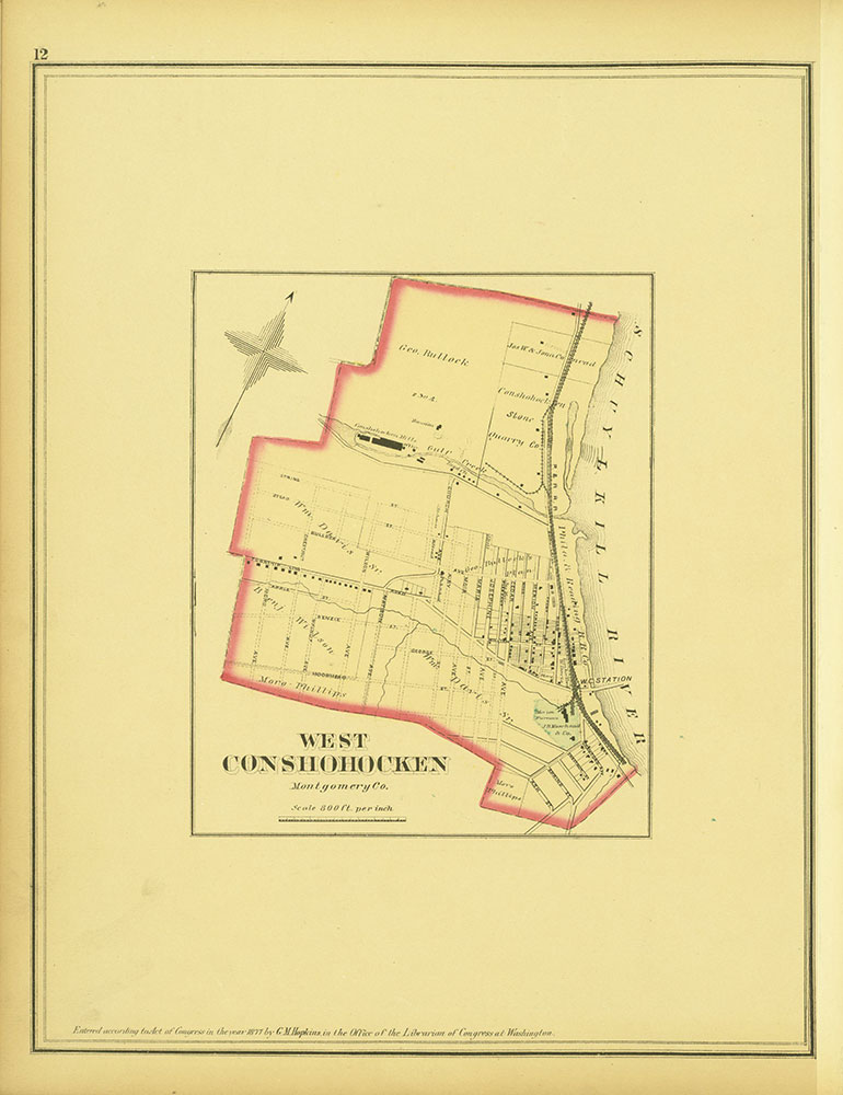 Atlas of Philadelphia and Environs, Page 12