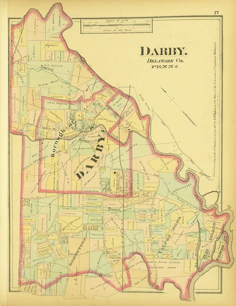 Atlas of Philadelphia and Environs, Page 17