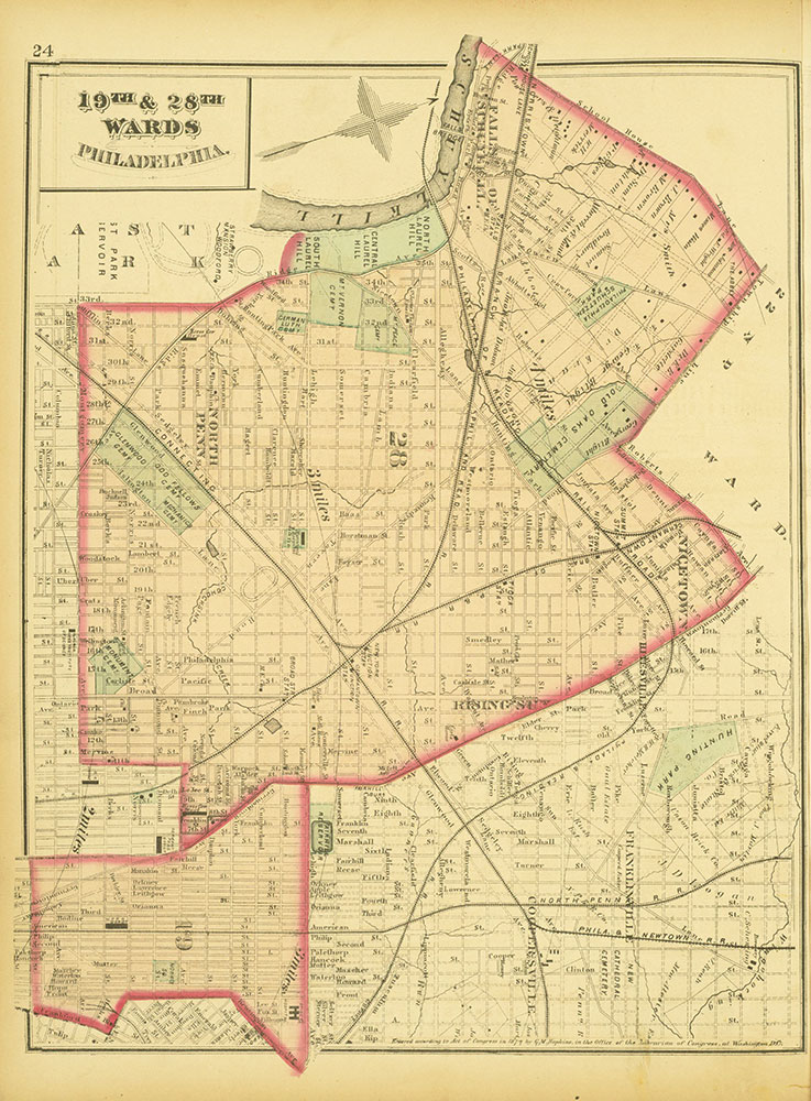 Atlas of Philadelphia and Environs, Page 24