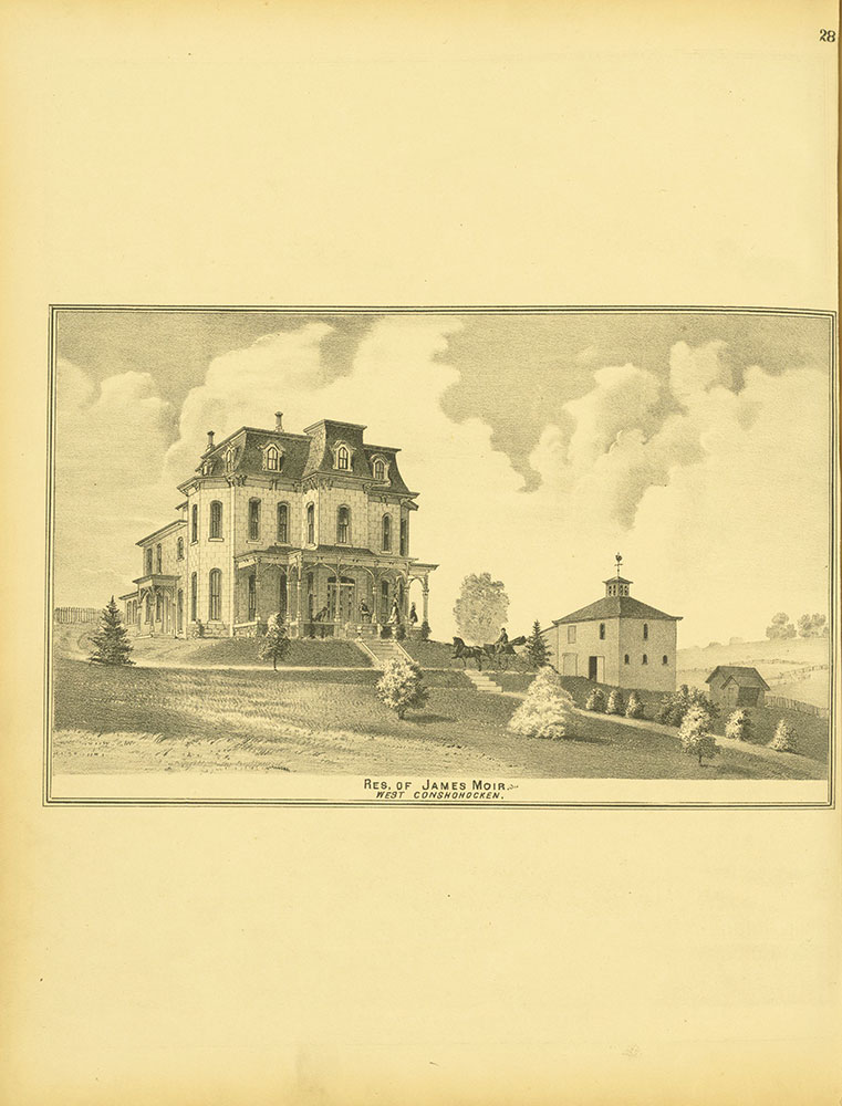 Atlas of Philadelphia and Environs, Page 28