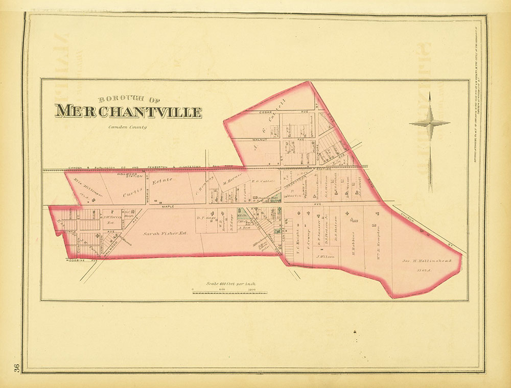 Atlas of Philadelphia and Environs, Page 36
