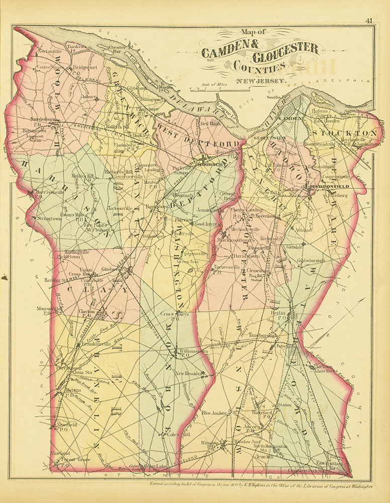 Atlas of Philadelphia and Environs, Page 41