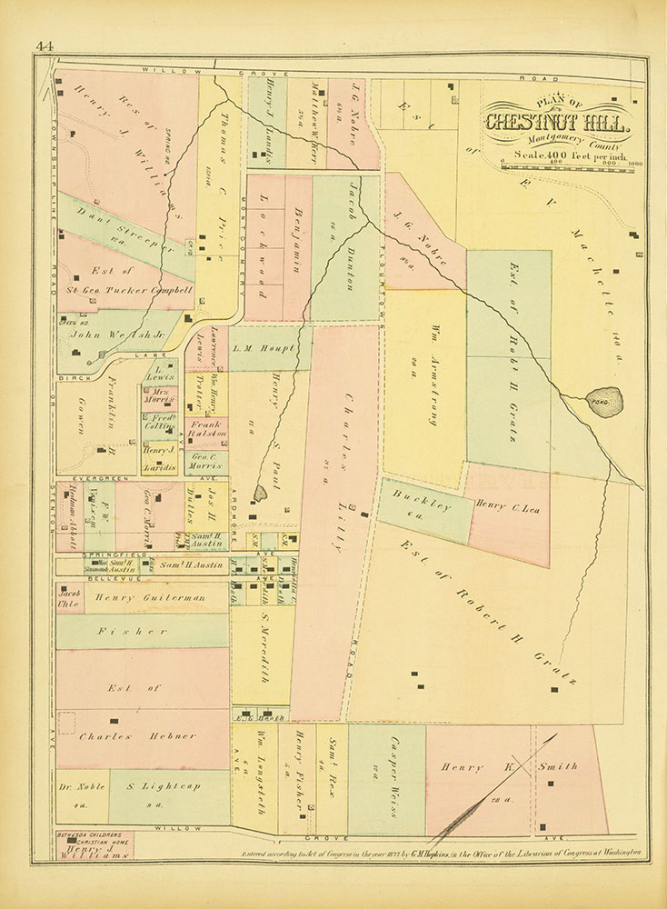 Atlas of Philadelphia and Environs, Page 44