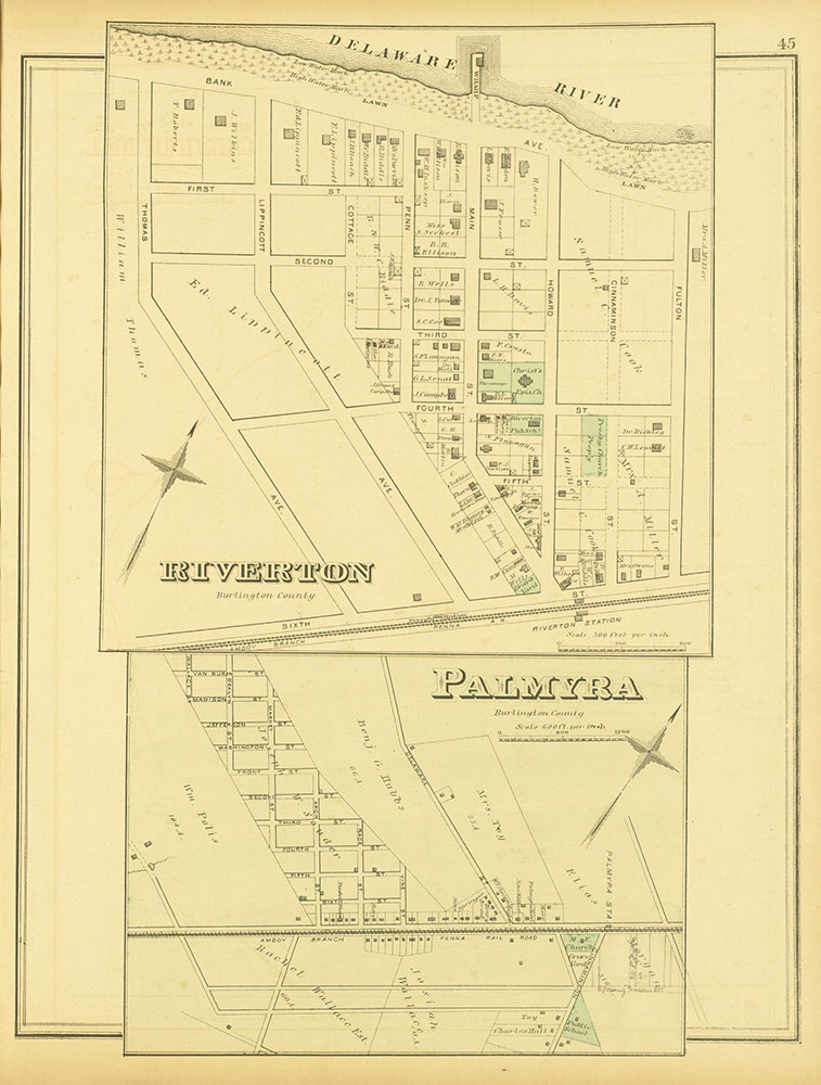 Atlas of Philadelphia and Environs, Page 45