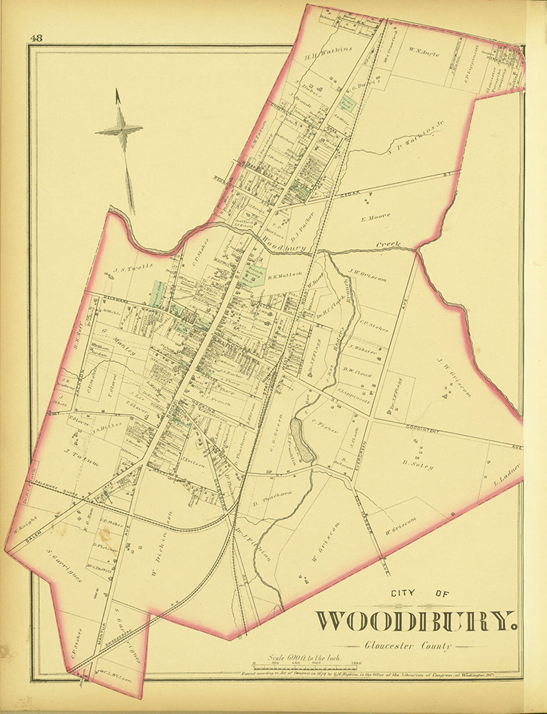 Atlas of Philadelphia and Environs, Pages 48-49