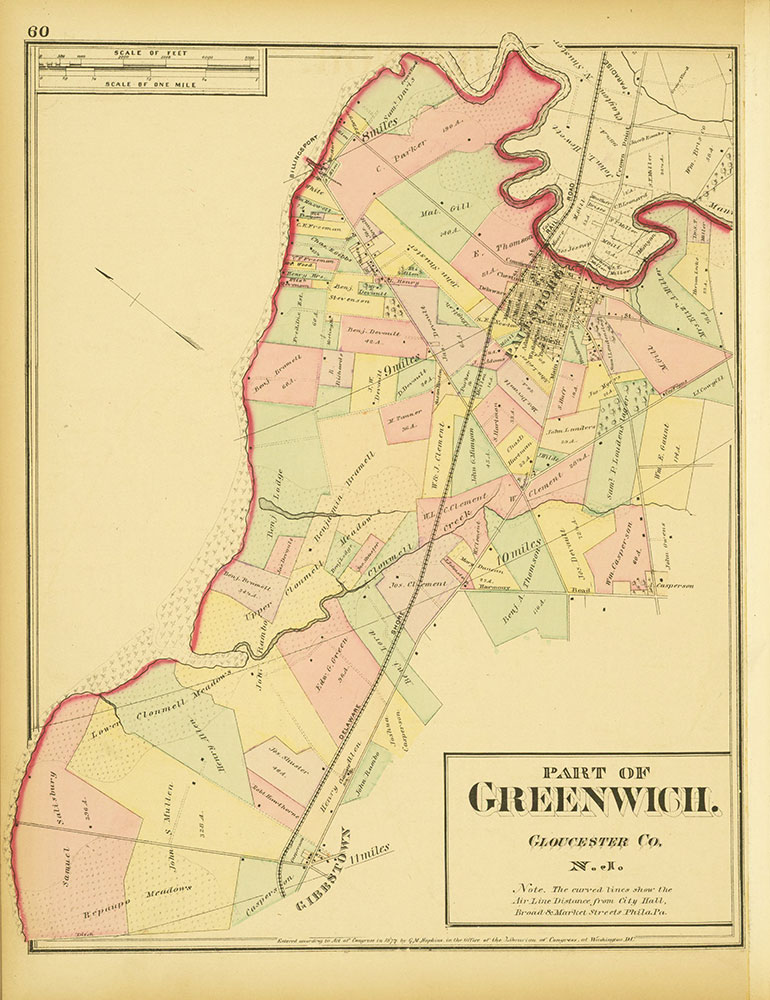 Atlas of Philadelphia and Environs, Page 60