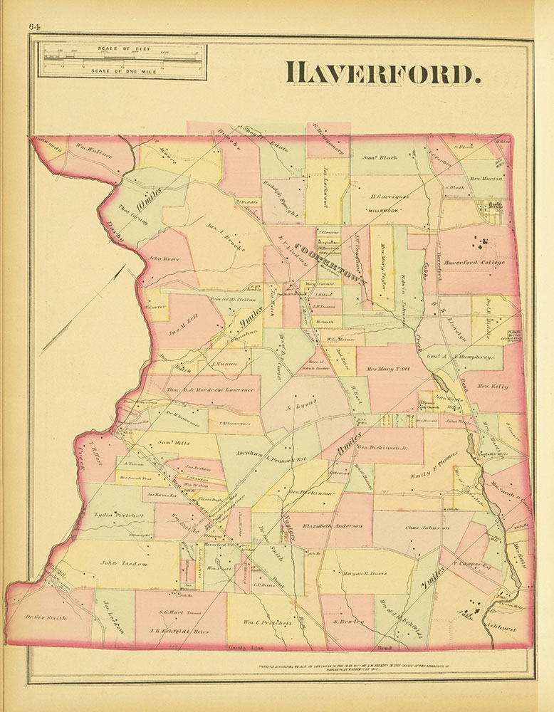 Atlas of Philadelphia and Environs, Page 64