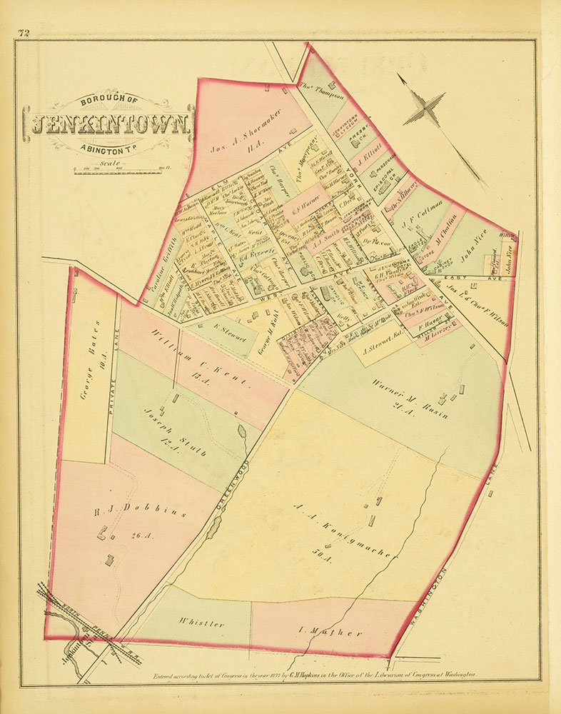 Atlas of Philadelphia and Environs, Page 72