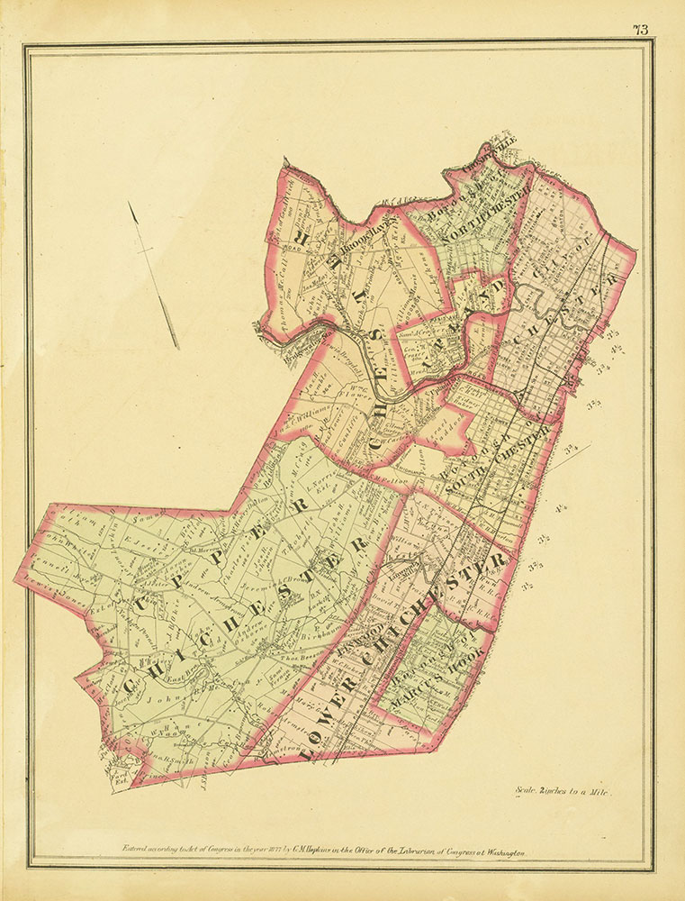 Atlas of Philadelphia and Environs, Page 73