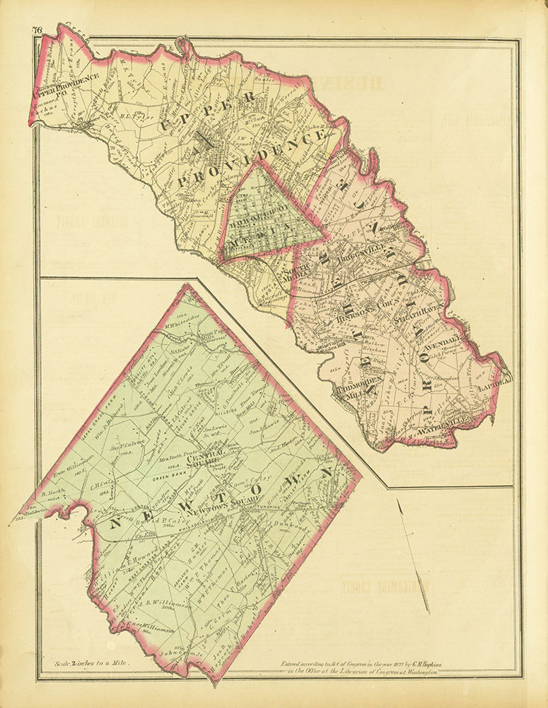 Atlas of Philadelphia and Environs, Page 76