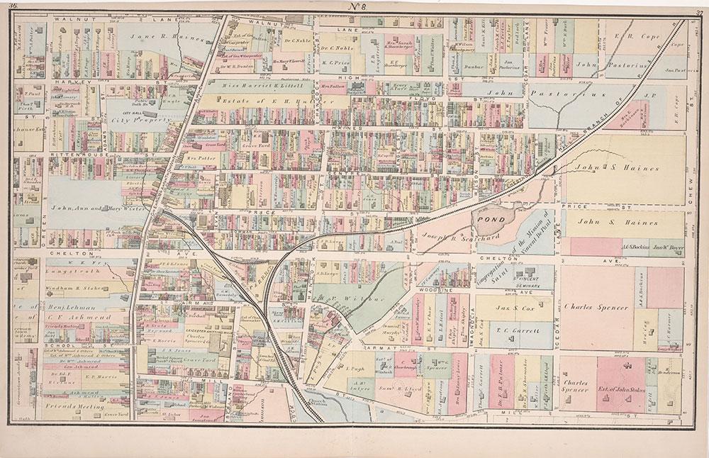 Atlas of Germantown, 22nd Ward, 1871, Plate 7