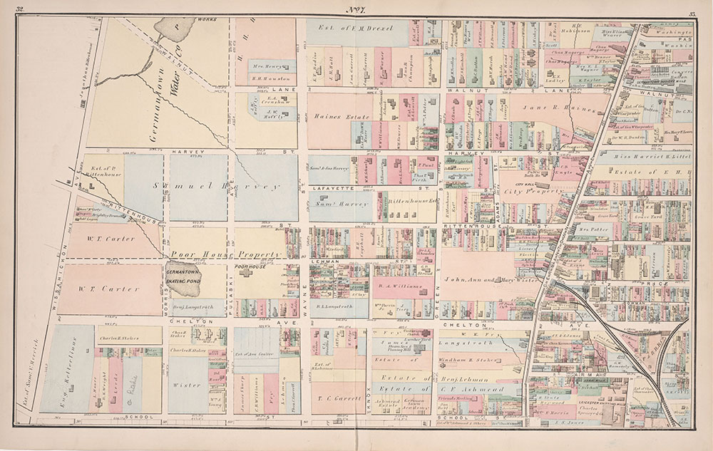 Atlas of Germantown, 22nd Ward, 1871, Plate 8