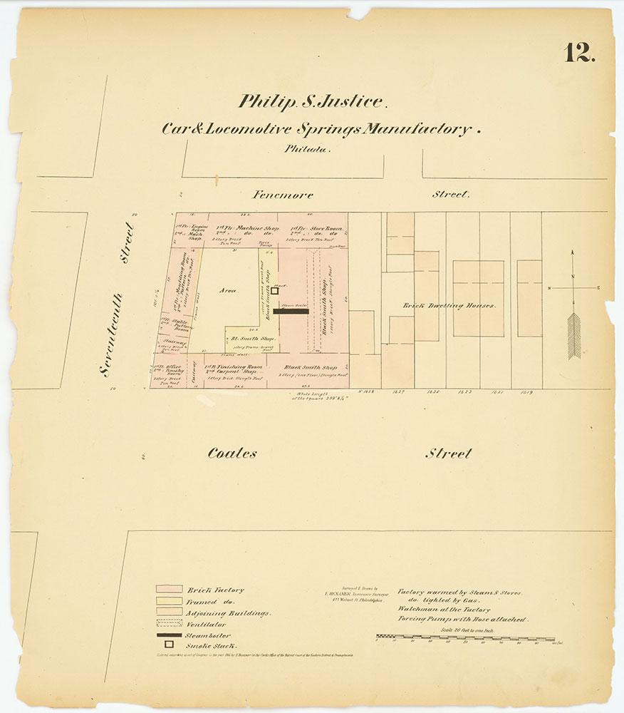 Hexamer General Surveys, Volume 1, Plate 12
