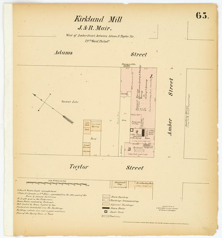 Hexamer General Surveys, Volume 1, Plate 65