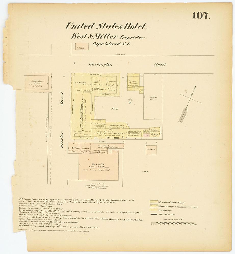 Hexamer General Surveys, Volume 2, Plate 107