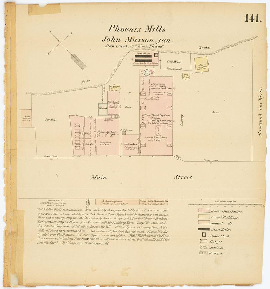 Hexamer General Surveys, Volume 2, Plate 141