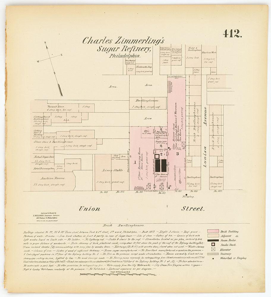Hexamer General Surveys, Volume 5, Plate 412