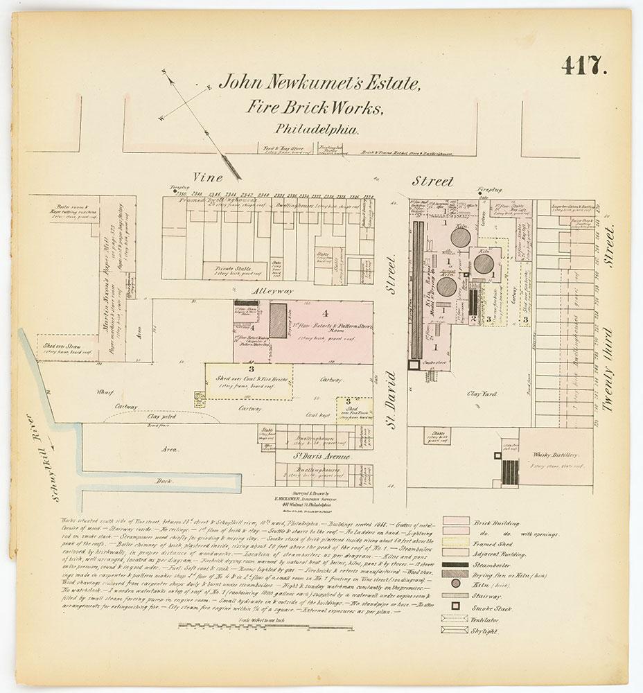 Hexamer General Surveys, Volume 5, Plate 417