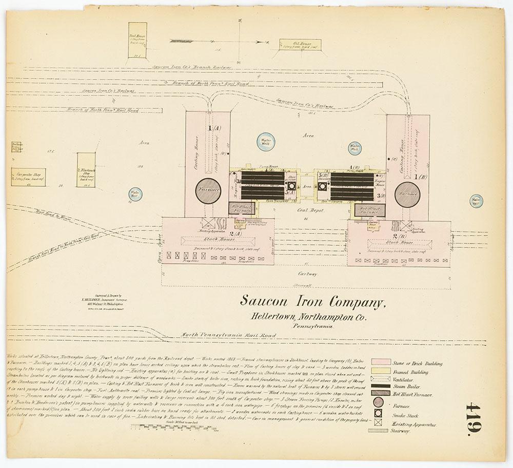 Hexamer General Surveys, Volume 5, Plate 419