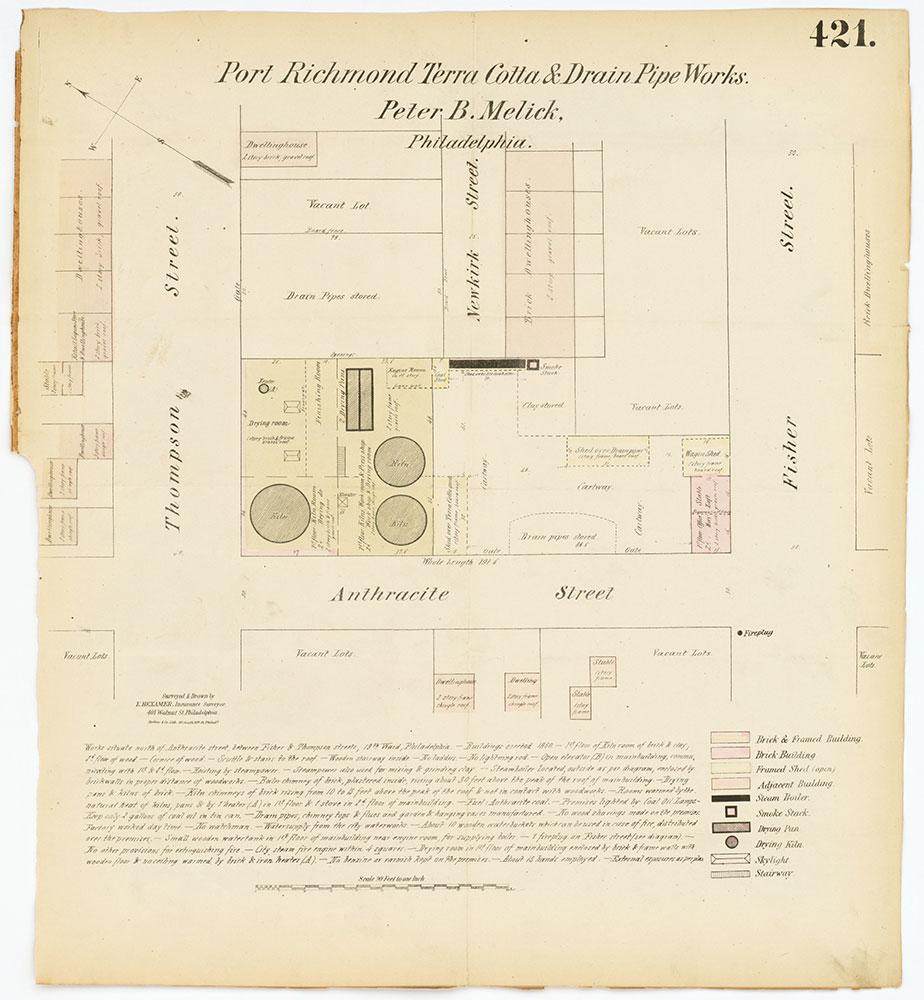 Hexamer General Surveys, Volume 5, Plate 421