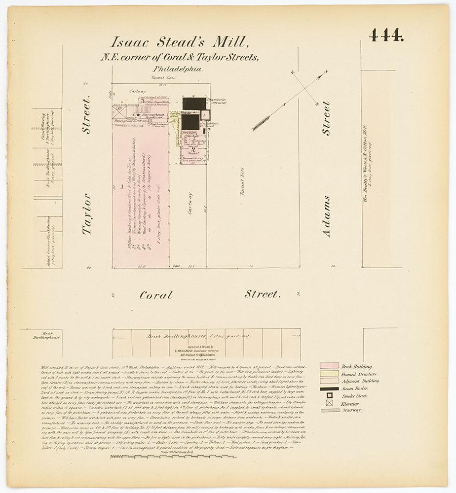 Hexamer General Surveys, Volume 5, Plate 444