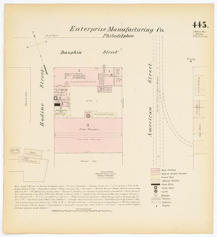 Hexamer General Surveys, Volume 5, Plate 445