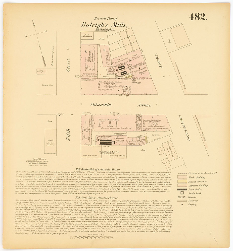 Hexamer General Surveys, Volume 6, Plate 482