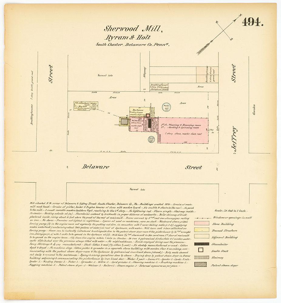 Hexamer General Surveys, Volume 6, Plate 494