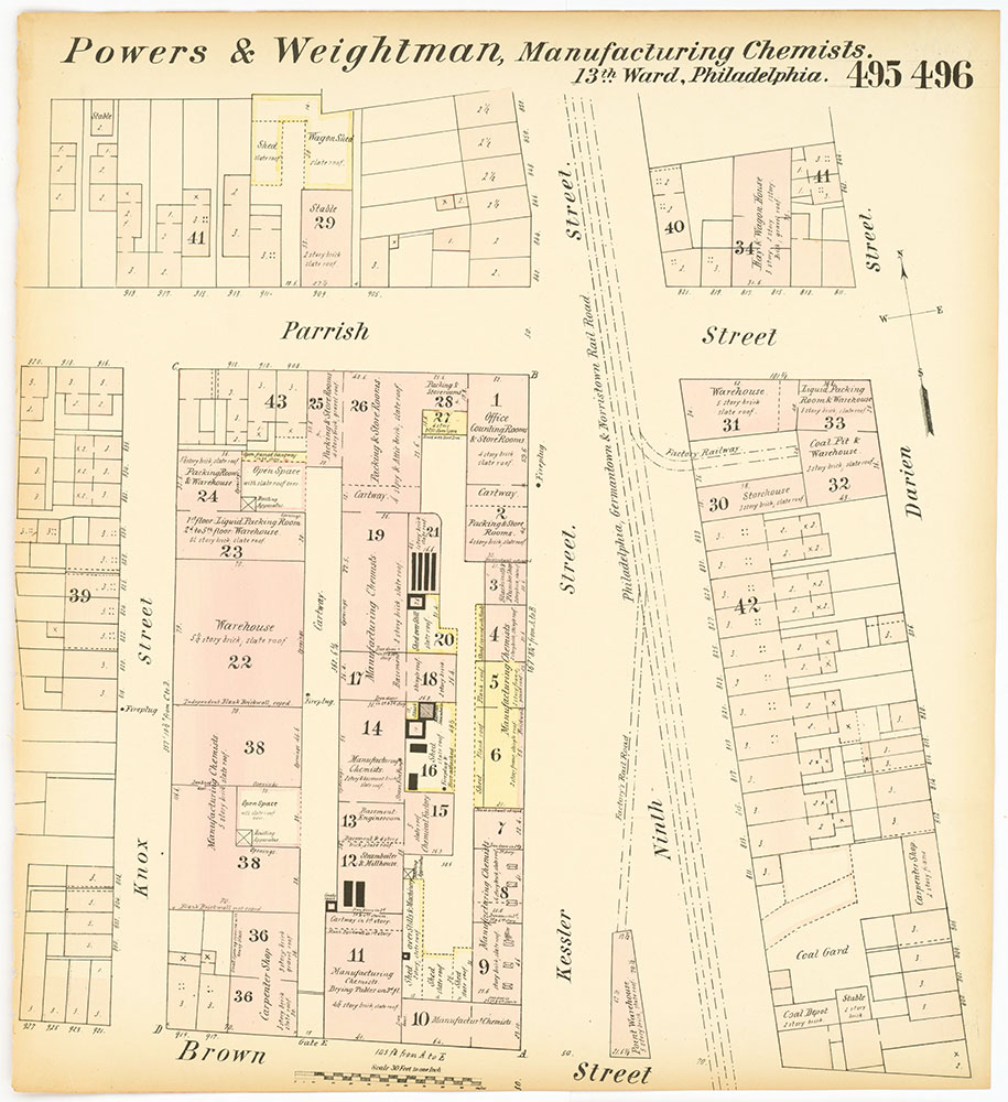 Hexamer General Surveys, Volume 6, Plates 495-496