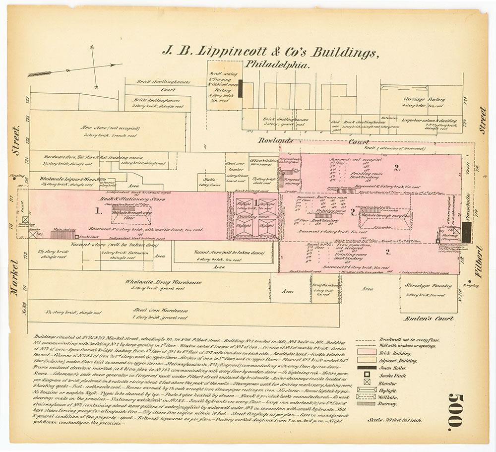 Hexamer General Surveys, Volume 6, Plate 500