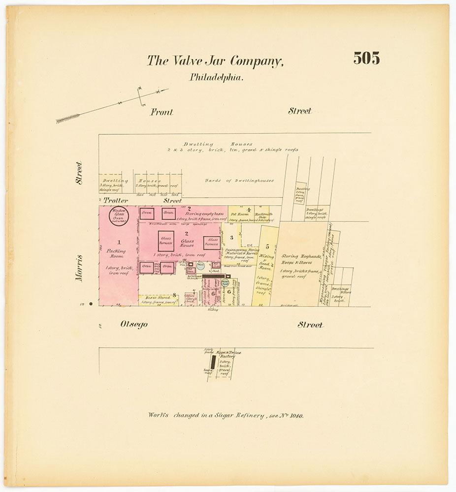 Hexamer General Surveys, Volume 6, Plate 505
