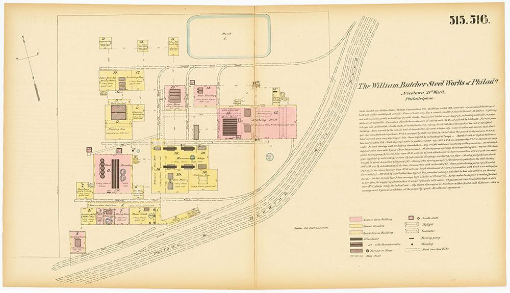 Hexamer General Surveys, Volume 6, Plates 515-516