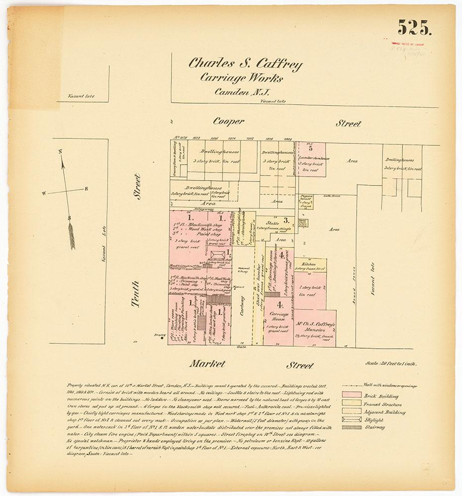 Hexamer General Surveys, Volume 6, Plate 525