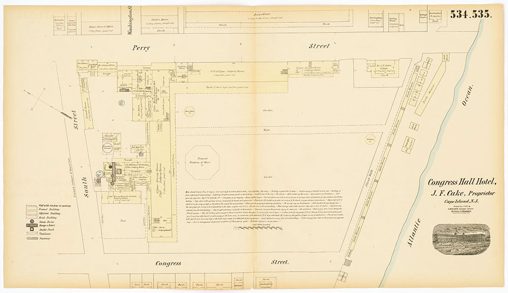 Hexamer General Surveys, Volume 6, Plates 534-535