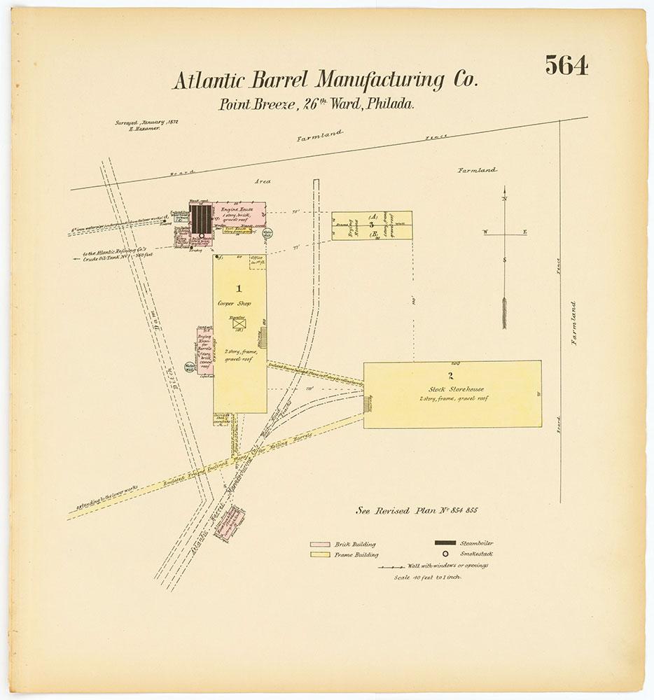 Hexamer General Surveys, Volume 7, Plate 564